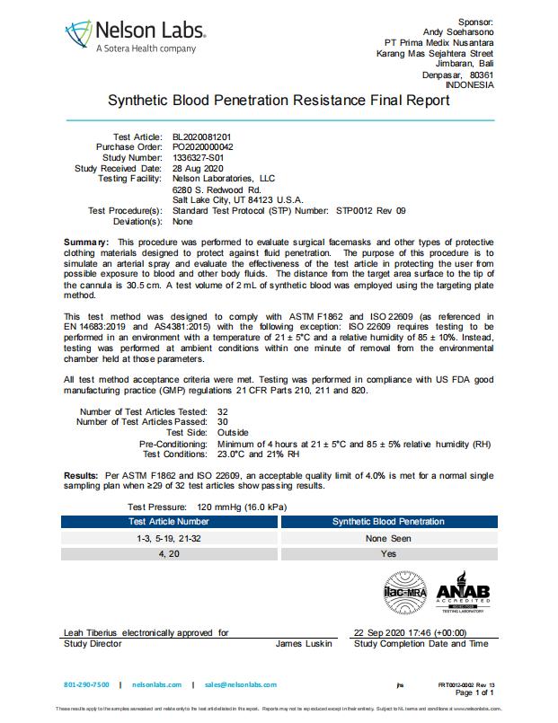 PrimaMedix-Surgical-Mask-Blood-Penetration-Report.png